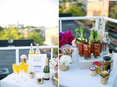 Bright + Playful Breakfast Wedding Inspiration