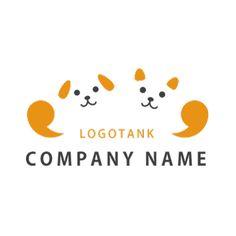 犬猫がガッツポーズをするロゴマーク 犬,猫,ロゴ,デザイン,作成,ガッツポーズ,健康,動物,病院,ペットサロン Typography Logo, Logo Branding, Logos, My Pet Dog, Logo Desing, Japan Logo, Japanese Graphic Design, Dog Years, New Year Card