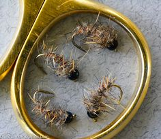 A Hair & Copper, in different weights, is my favourite nymph pattern.