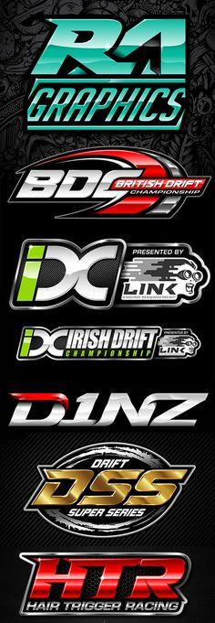 Ideas For Cars Logo Ideas Inspiration Logo Sticker, Sticker Design, Car Logo Design, Moto Logo, Show Logo, Automotive Logo, Badge Logo, Word Design, Car Logos