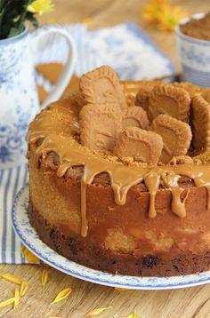 Cheesecake de crema de Lotus