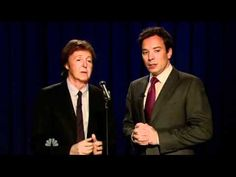 Scrambled #EGGs (Yesterday) by Paul McCartney and Jimmy Fallon