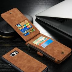 New PU Leather Wallet Flip Case Cover for Samsung S6/S6 Edge/S7 Iphone5/6/6s