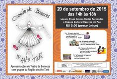 Agenda Cultural do ALTO TIETÊ: Domingo, TEATRO DE BONECOS no Espaço Cultural Oper...