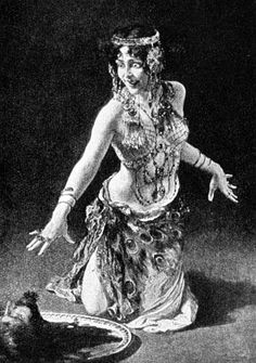 Salome as envisioned by the bohemian artist Leopold Schmutzler