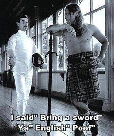 Love the Scots! lols