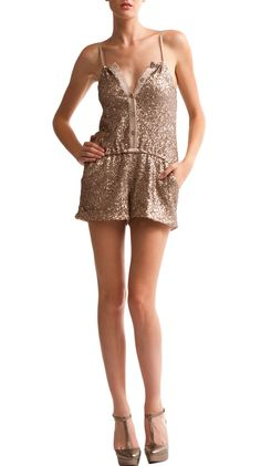 Brea Romper, Gold by Gypsy Junkies - LOVE, LOVE, LOVE