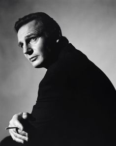 Liam Neeson. Going to try this lighting.