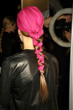 Scarf and braid