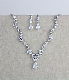 Bridal jewelry set Wedding necklace set Bridal necklace