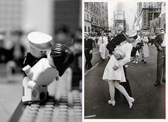 V.J. Day Time Square - In LEGOS :)