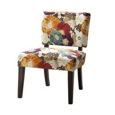 Jess -- this is the chair on sale at Target I was telling you about.  Vale Open Back Slipper Accent Chair-Floral Graffiti