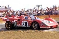 Ferrari 512 Spyder Sebring 1970 Jacky Ickx