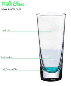 Recette Cocktail MILK BLUES