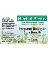 All Parrot Products  - Avitech Immune Booster Herbal Supplement, $12.99 (http://www.allparrotproducts.com/avitech-immune-booster-herbal-supplement/)