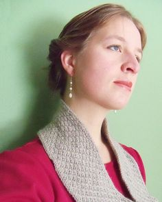 So pretty and classic!  Ravelry: November Guest pattern by Becky Herrick