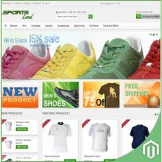 Magento SportsLand Premium Theme