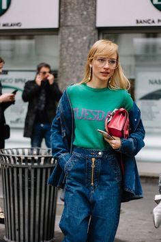 Street Style Milan Fashion Week Otono Invierno 2017 | Galería de fotos 17 de 157 | VOGUE