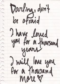 60 Best A Thousand Years Images Christina Perri Lyric Quotes A