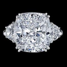 Rings   Cushion Cut Diamond Ring   Bigham Jewelers, Naples Florida Jewelers