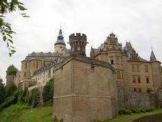 Frýdlant Castle in Czech Republic
