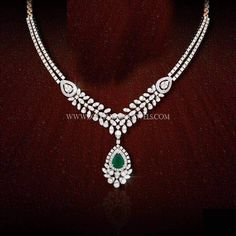 Layered Diamond Necklace Sets, Simple Diamond Necklace Collections.
