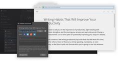 Write! - Distraction-Free Text Editor for Writing Productivity