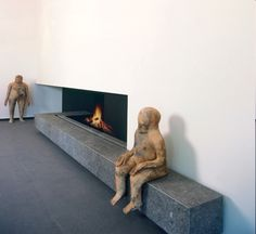 Modern Fireplace and Hearth
