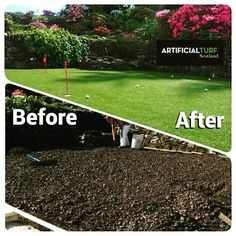 Before and After  Call Us: 01506655965 Or visit our website www.artificialturfscotland.co.uk  #ArtificialTurfScotland #artificial #fakegrass #artificialgrass #astroturf #grass #syntheticgrass #syntheticturf #garden #landscape #gardening #scotland🇬🇧