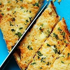 How to make garlic cheese bread at home.