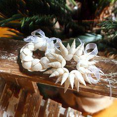 Shell Wreath Ornaments