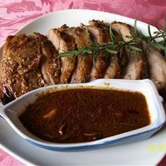Foto de receta: Pernil de Cordero con Salsa de Miel, Romero y Limón