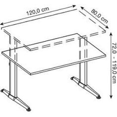 11 Best adjustable height table images | Adjustable height