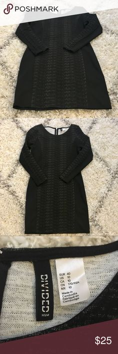 Long sleeve dress Long sleeve dress from H&M. Size US 10 (EUR 40) but runs small as H&M tends to run. Zip in back. H&M Dresses Long Sleeve