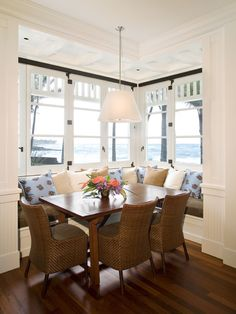 Dining Room Built In Bench In Kitchen Design, Pictures, Remodel, Decor and Ideas - page 2