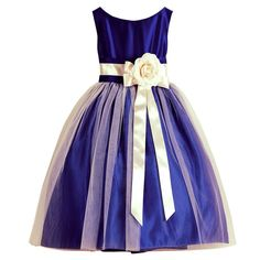 Sweet Kids Girls Royal Blue Floral Accent Junior Bridesmaid Dress - Dress Honey - Sweet Kids Girls Royal Blue Floral Accent Junior Bridesmaid Dress – Bridesmaid Dresses – I - Little Dresses, Little Girl Dresses, Girls Dresses, Flower Girl Dresses, Party Frocks, Junior Bridesmaid Dresses, Kind Mode, Special Occasion Dresses, Dress Patterns