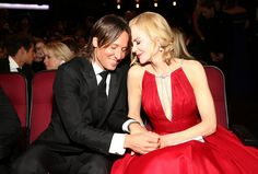 Nicole Kidman and husband Keith Urban showed their love on and off the red carpet.