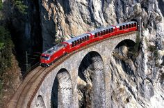 train through switzerland