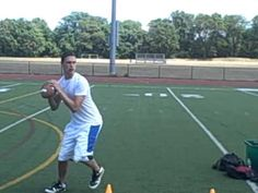 ▶ Quarterback Drills, Peyton Manning Cone Drill - YouTube