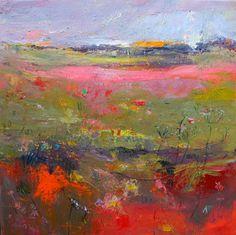 "Saatchi Art Artist Teresa Pemberton; Painting, ""An Edge of Poppies"" #art"