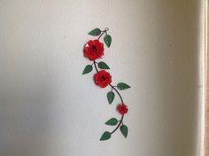 Ramo 3 flores vermelhas - QDP 194