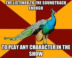 Yep! Oklahoma and Music Man! It also helps if you sit in the Orchestra pit and see it a 100 times:)