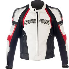 Spyke TOP SPORT GP Leather Motorcycle Jackets for Men