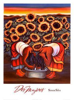 Dos Mujeres  by Simon Silva