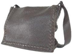 Bottega Veneta BOTTEGA VENETA Messenger Bag Brown Leather 221065 Y2241760