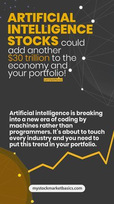 For these top five #AI stocks, I want to target the less well known companies, those smaller upstarts focused on #artificialintelligence…but I also believe you need a couple of those big dogs in the space. Nation, big tech development costs big money so it helps to have the deep pockets of the mega-tech names in your portfolio as well. #stockmarket #stockmarkettips #investingtips Buy Stocks, Investing In Stocks, Stock Market Basics, Income Protection, Investment Tips, Marketing Professional, Deep Learning, Economic Development