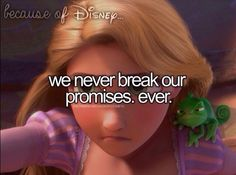 BECAUSE OF DISNEY... tangled