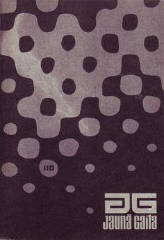 magazine cover by Ilmars Rumpētera (1975)