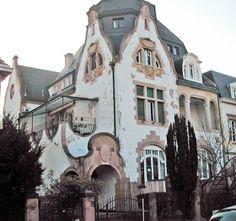 Villa Faist, Art nouveau, Strasbourg France