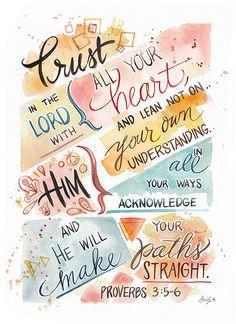 Proverbs 3:5-6❤️